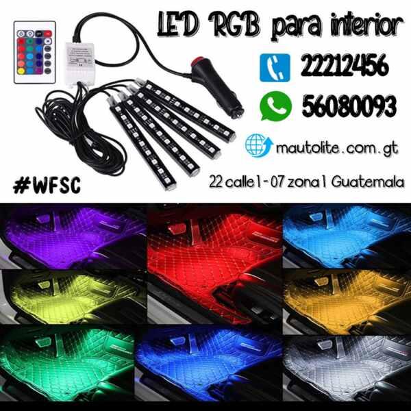 LED RGB de interior